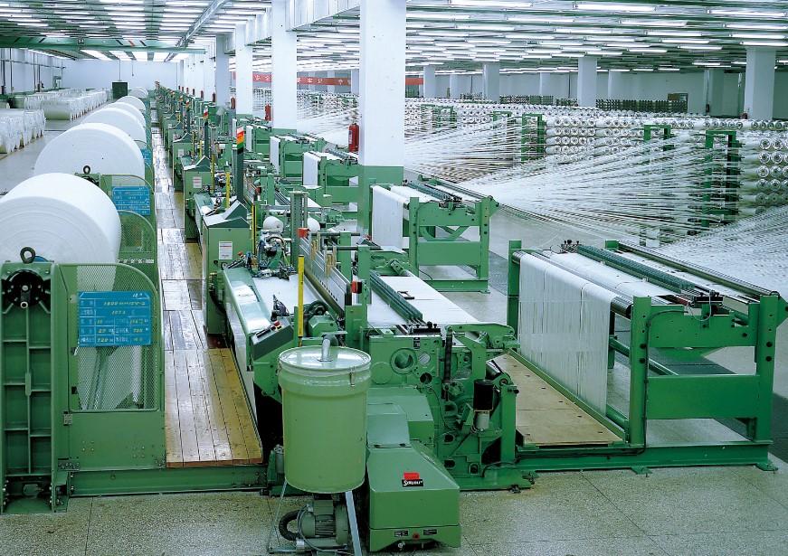proses weaving